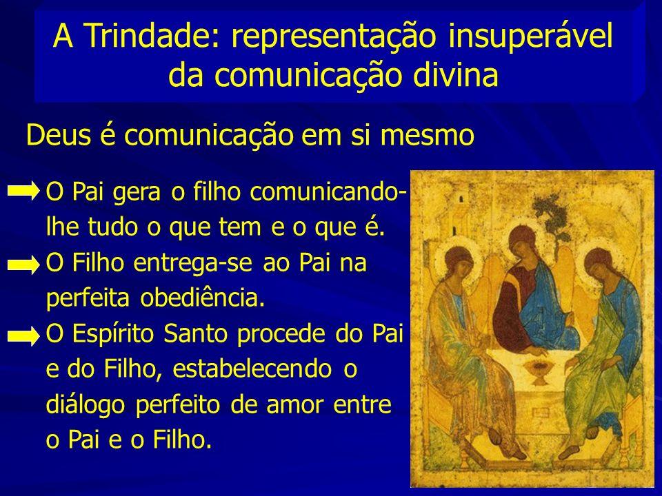 A Trindade: representação insuperável da comunicação divina