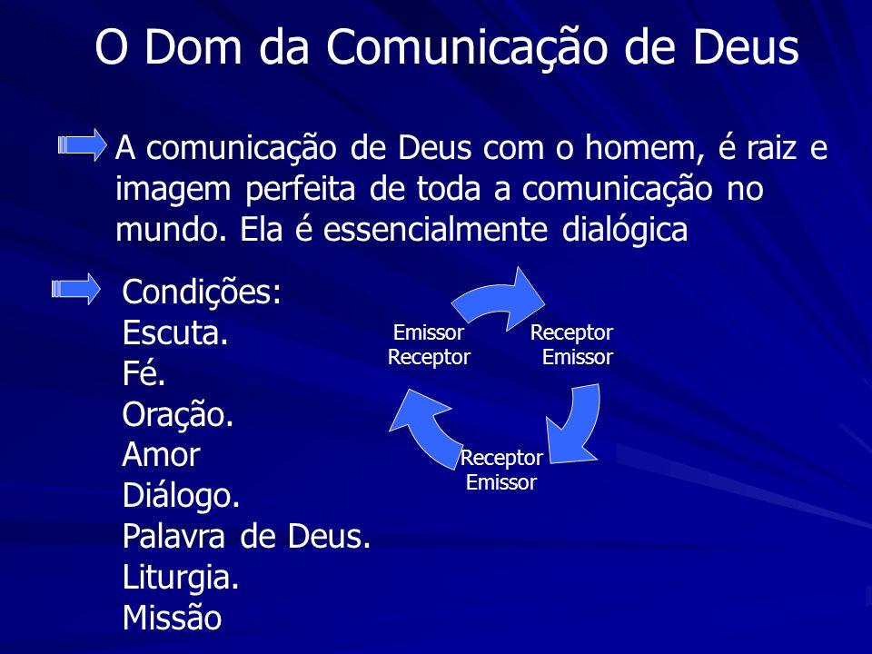 O Dom da Comunicação de Deus