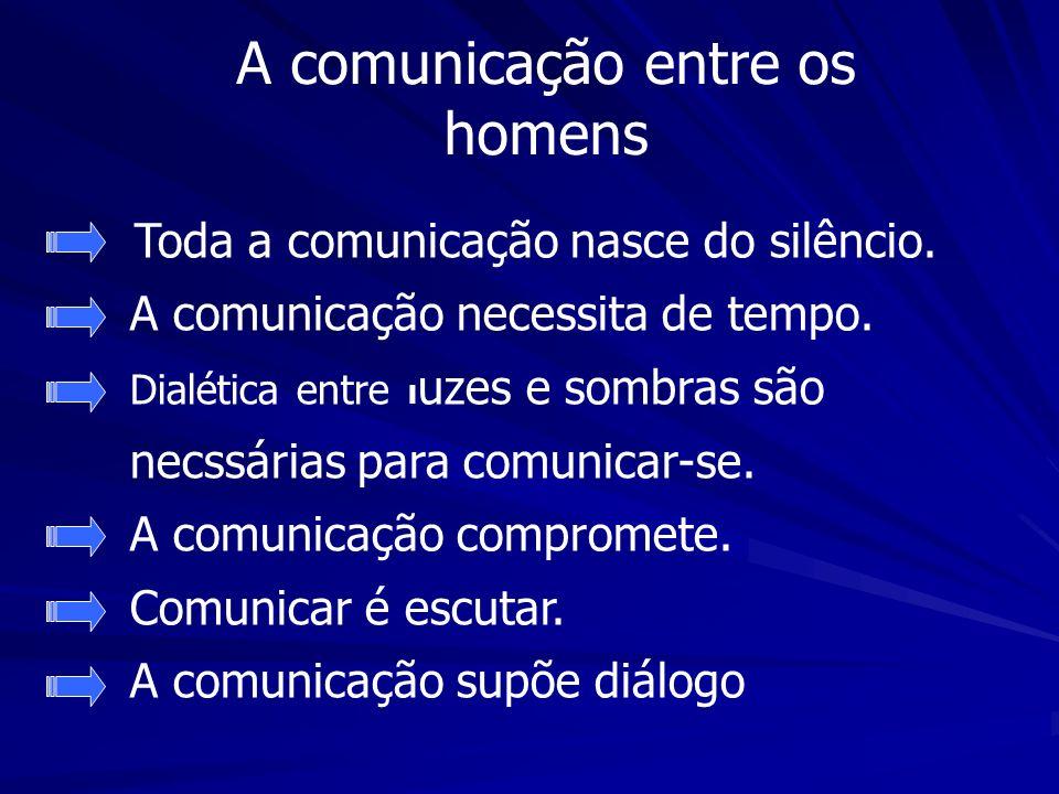 A comunicação entre os homens