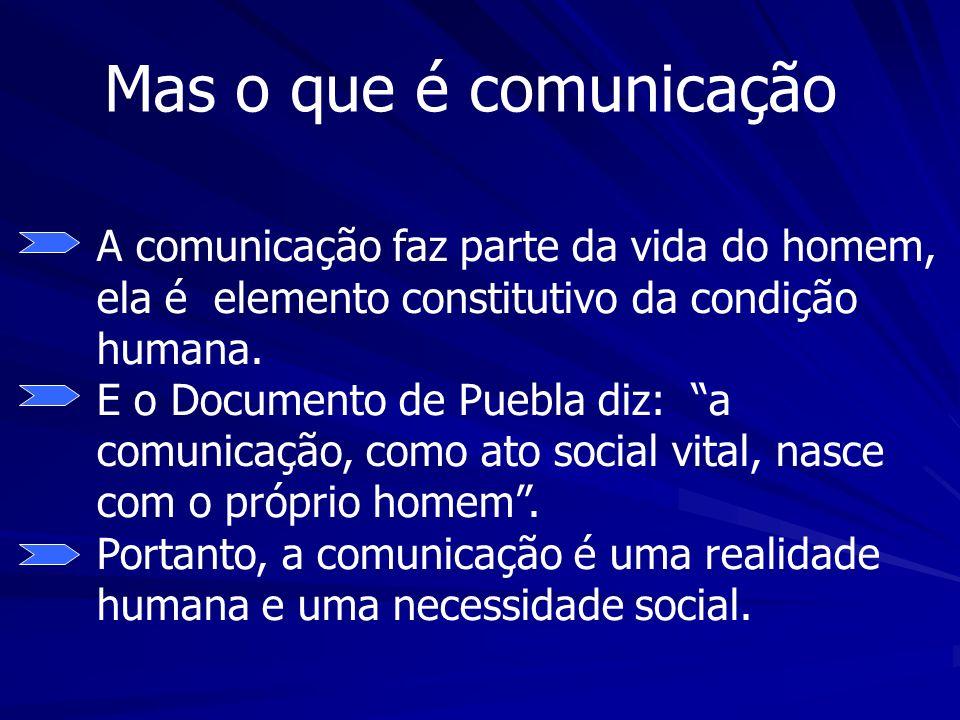 Mas o que é comunicação