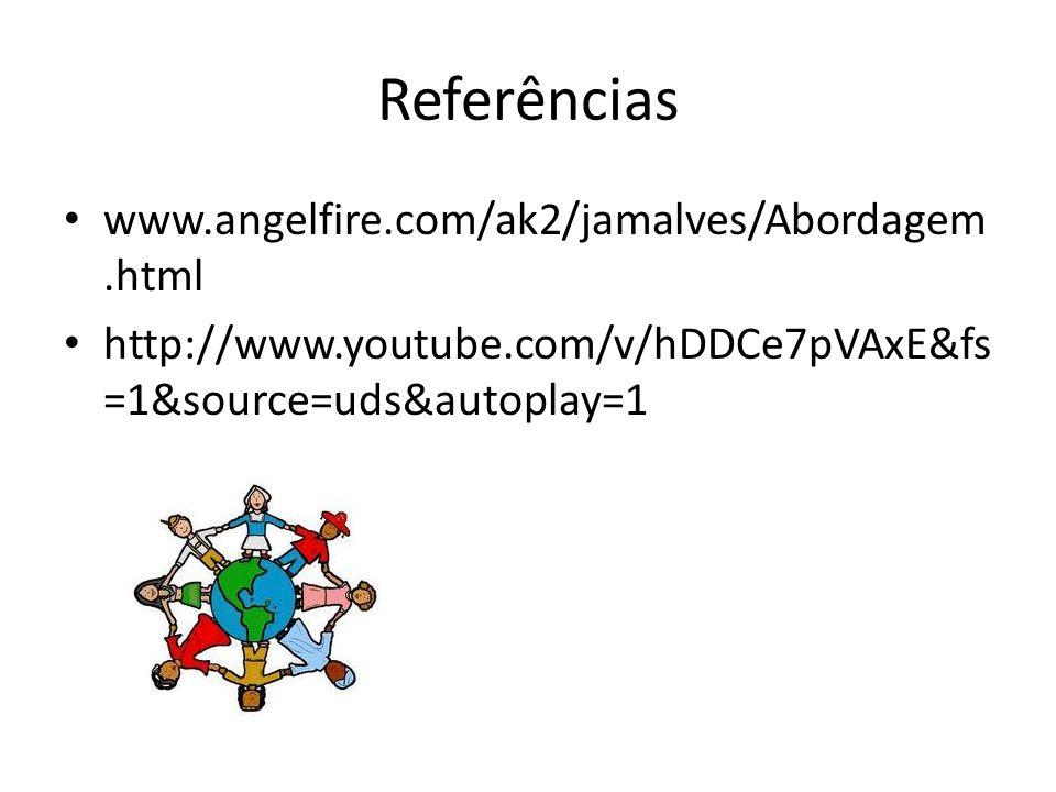 Referências www.angelfire.com/ak2/jamalves/Abordagem.html