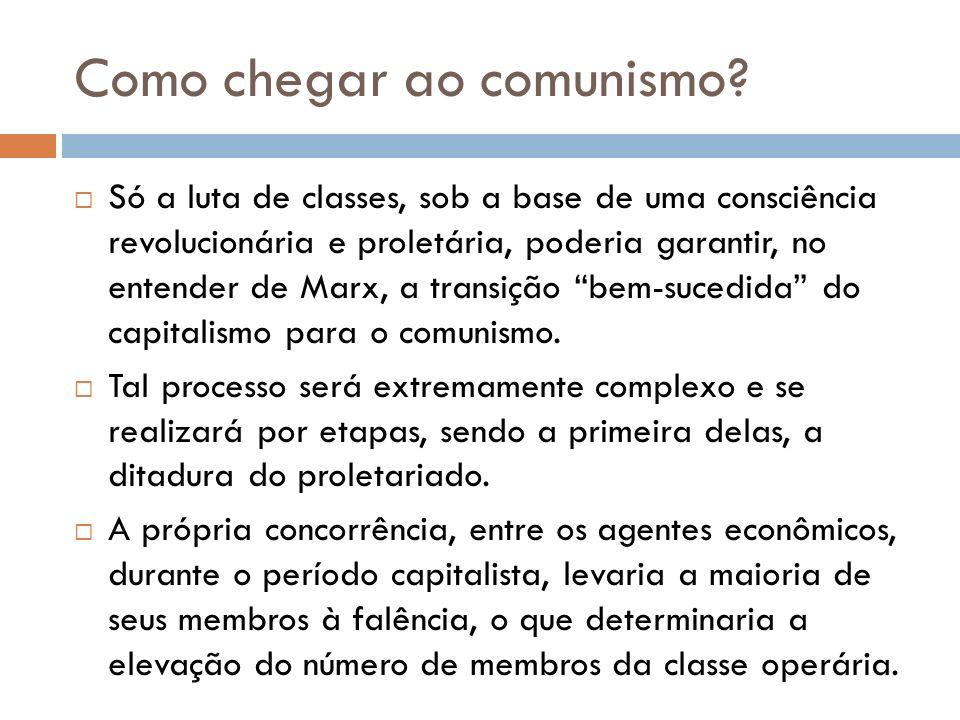 Como chegar ao comunismo