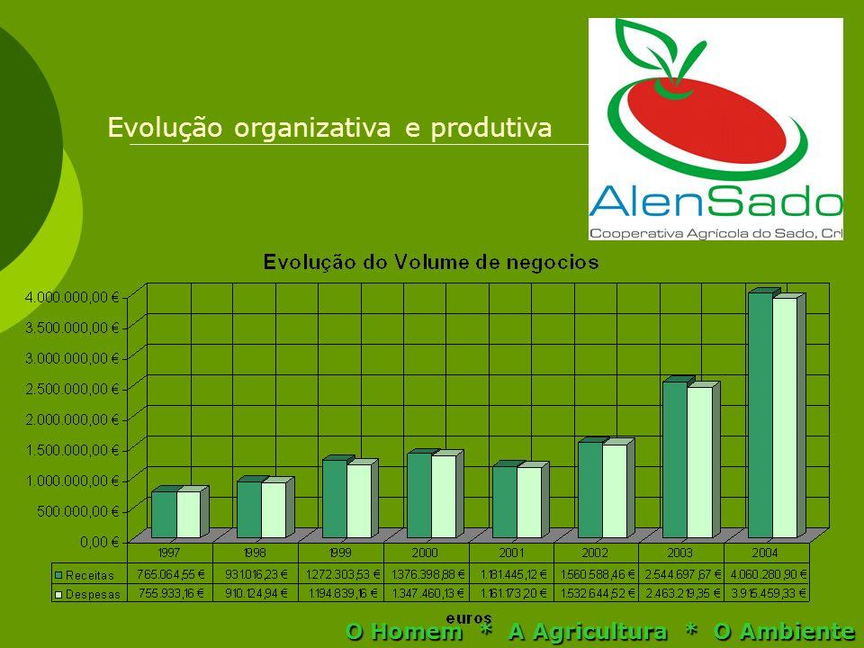 Evolução organizativa e produtiva