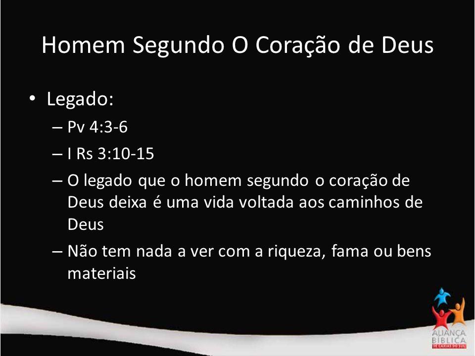 Homem Segundo O Coração de Deus
