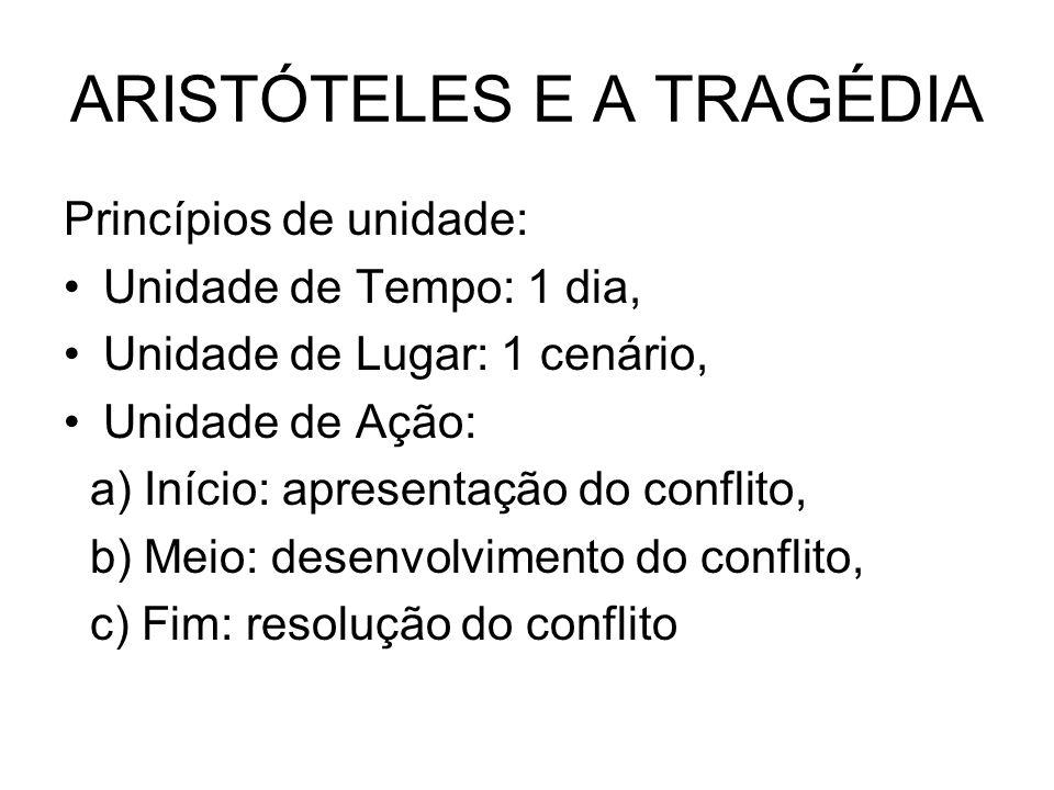 ARISTÓTELES E A TRAGÉDIA