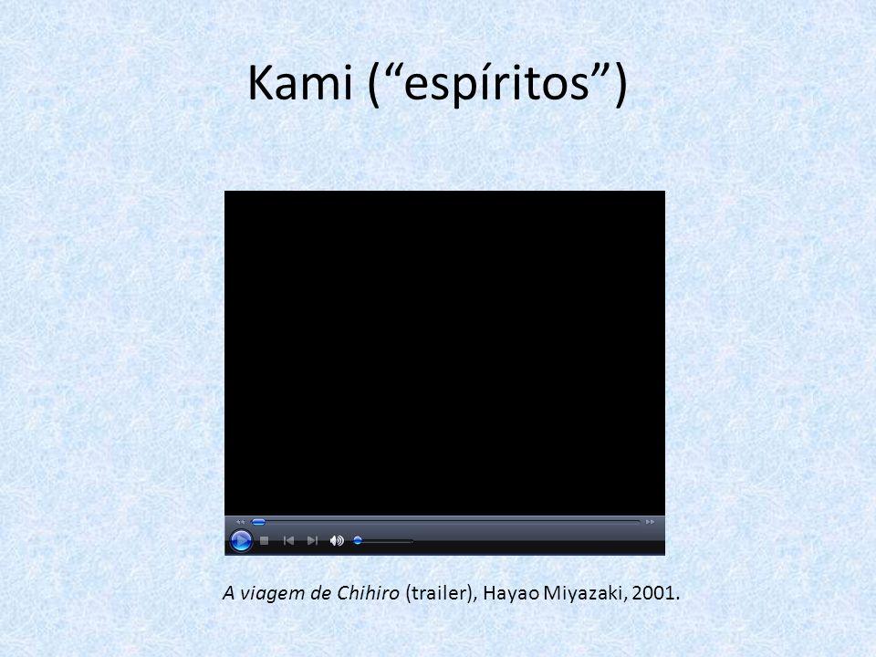 A viagem de Chihiro (trailer), Hayao Miyazaki, 2001.