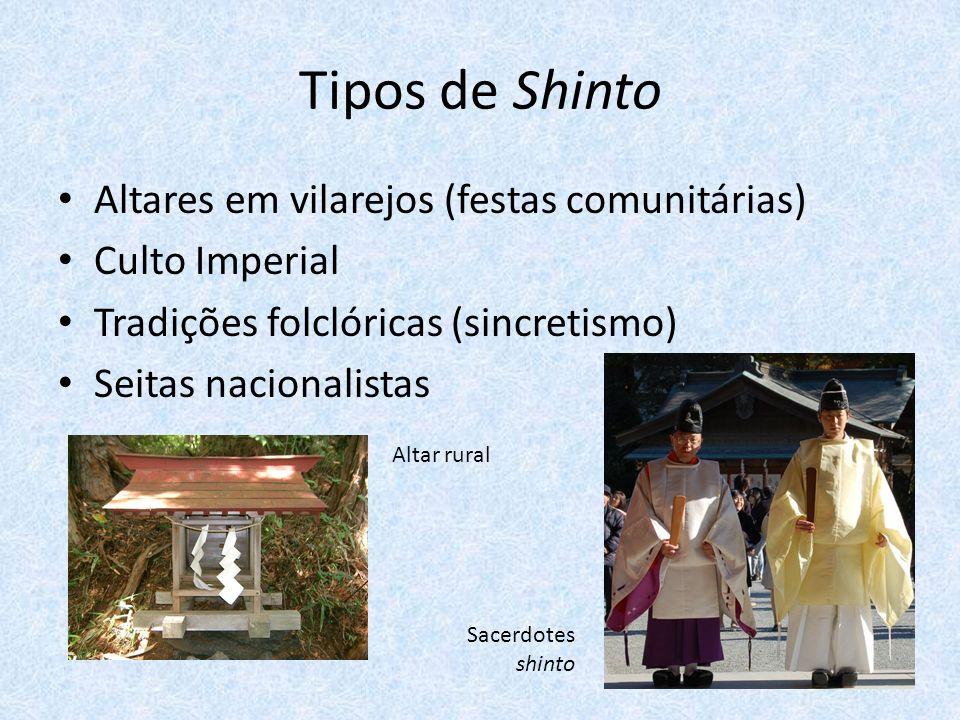 Tipos de Shinto Altares em vilarejos (festas comunitárias)