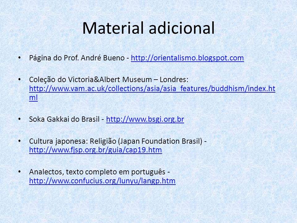 Material adicional Página do Prof. André Bueno - http://orientalismo.blogspot.com.