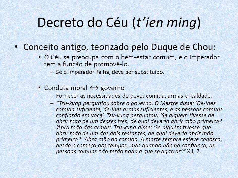 Decreto do Céu (t'ien ming)
