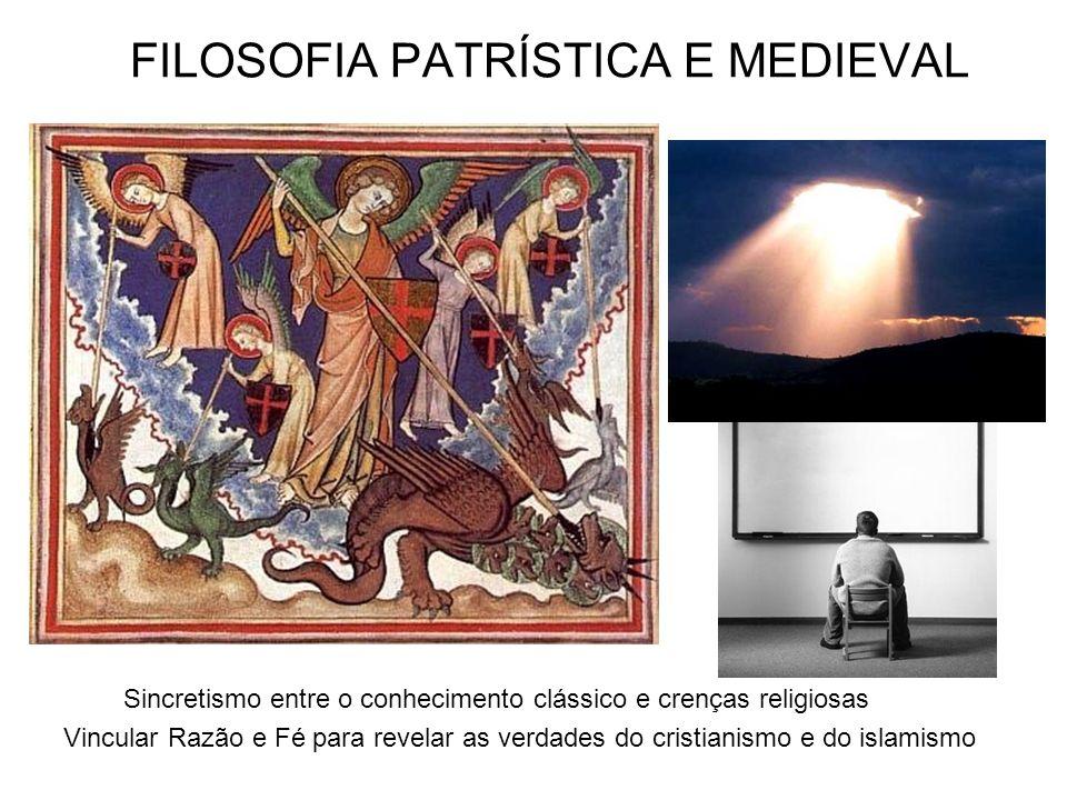 FILOSOFIA PATRÍSTICA E MEDIEVAL