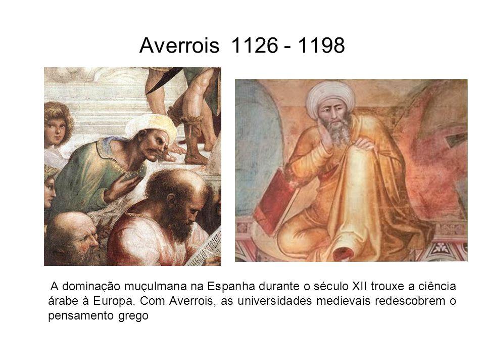 Averrois 1126 - 1198