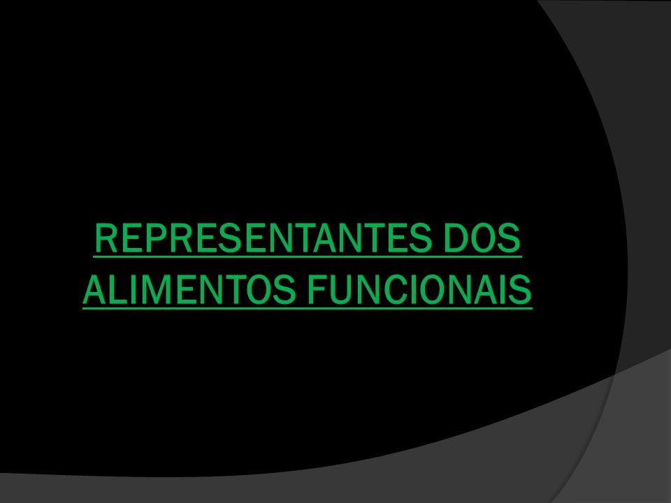 REPRESENTANTES DOS ALIMENTOS FUNCIONAIS