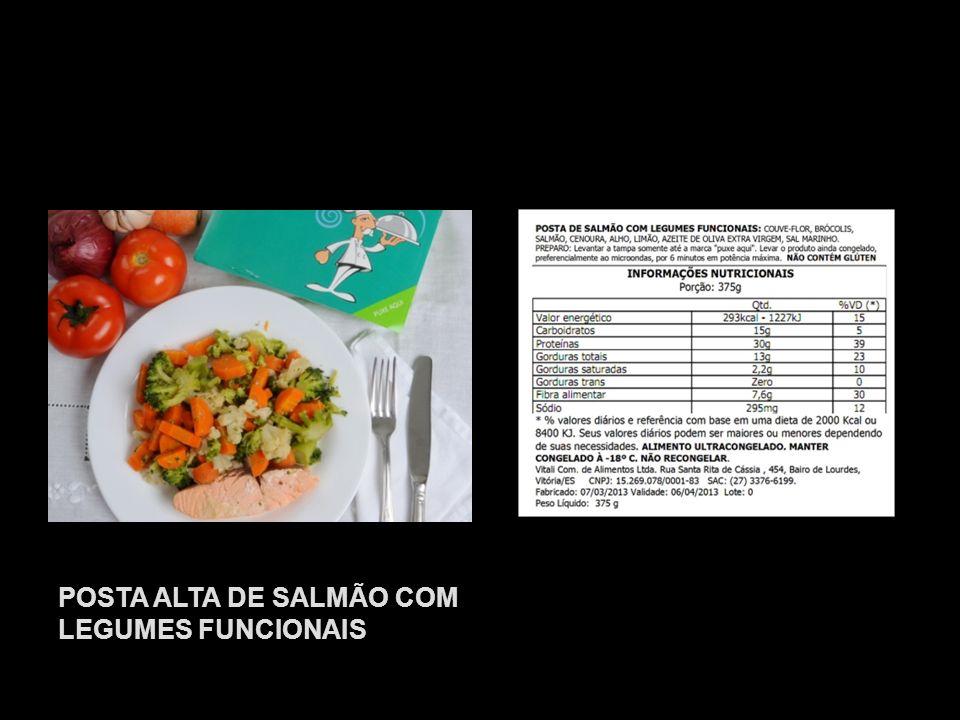 POSTA ALTA DE SALMÃO COM LEGUMES FUNCIONAIS