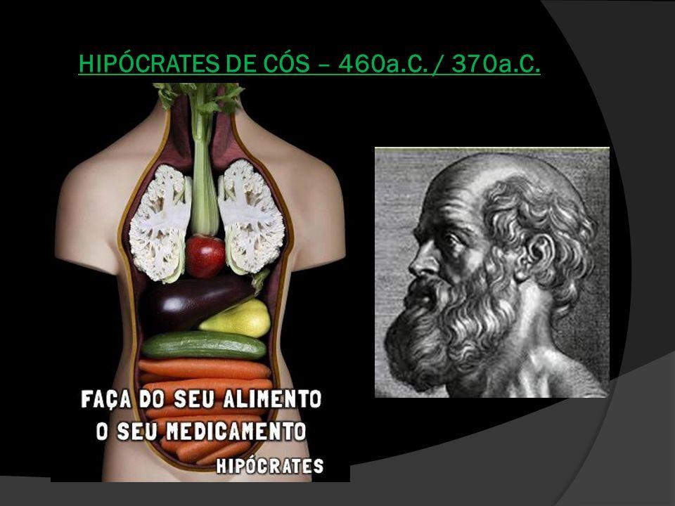 HIPÓCRATES DE CÓS – 460a.C. / 370a.C.