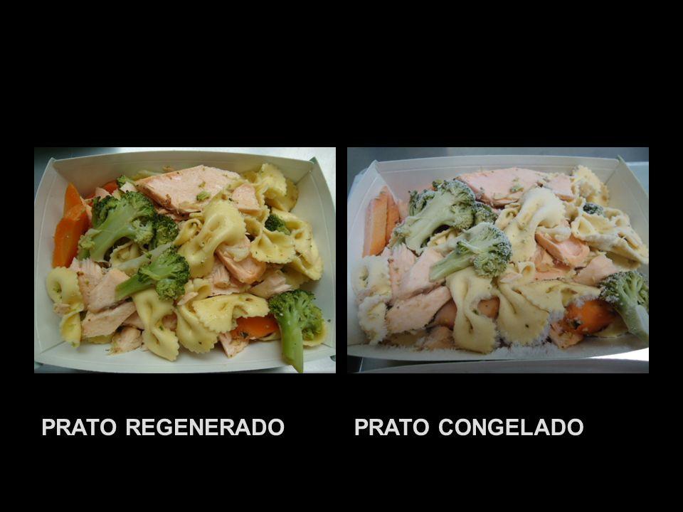 PRATO REGENERADO PRATO CONGELADO