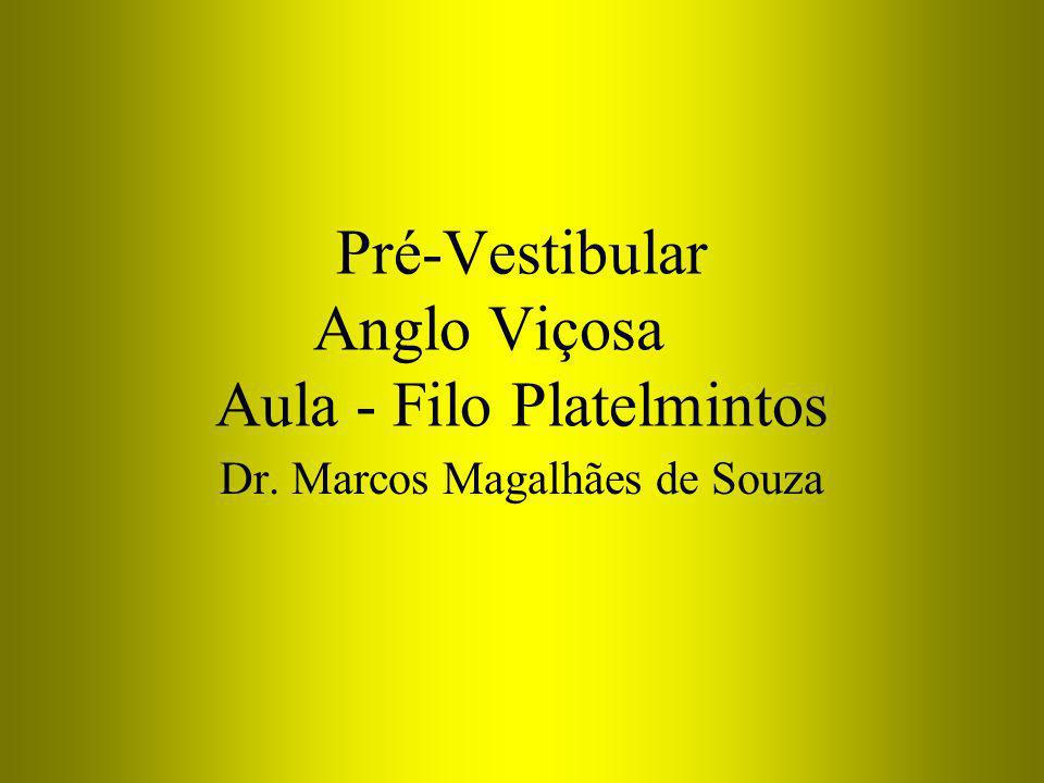 Pré-Vestibular Anglo Viçosa Aula - Filo Platelmintos