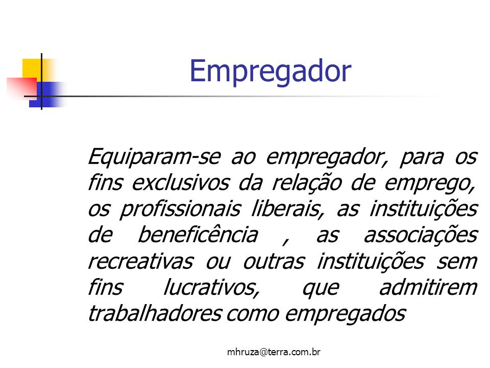 Empregador