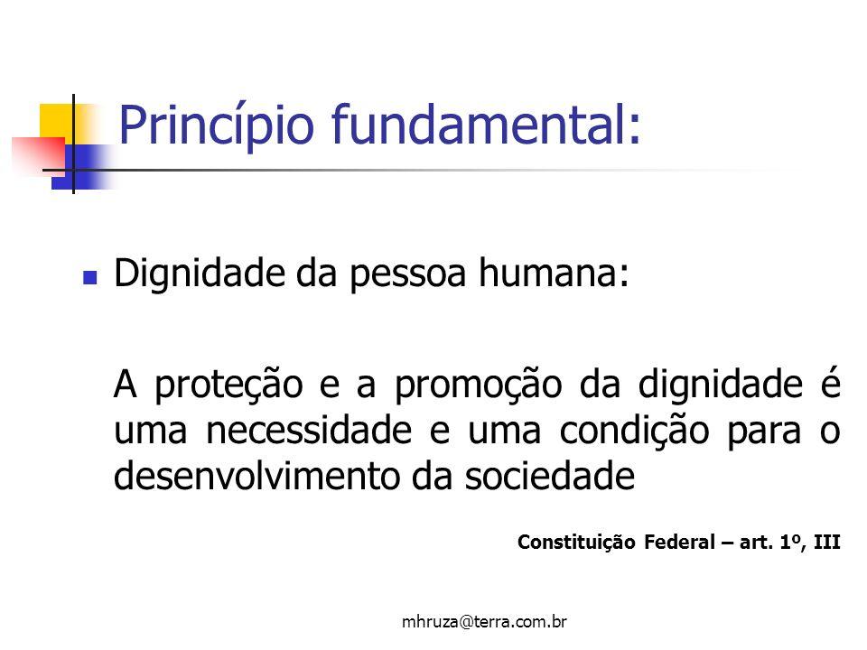 Princípio fundamental: