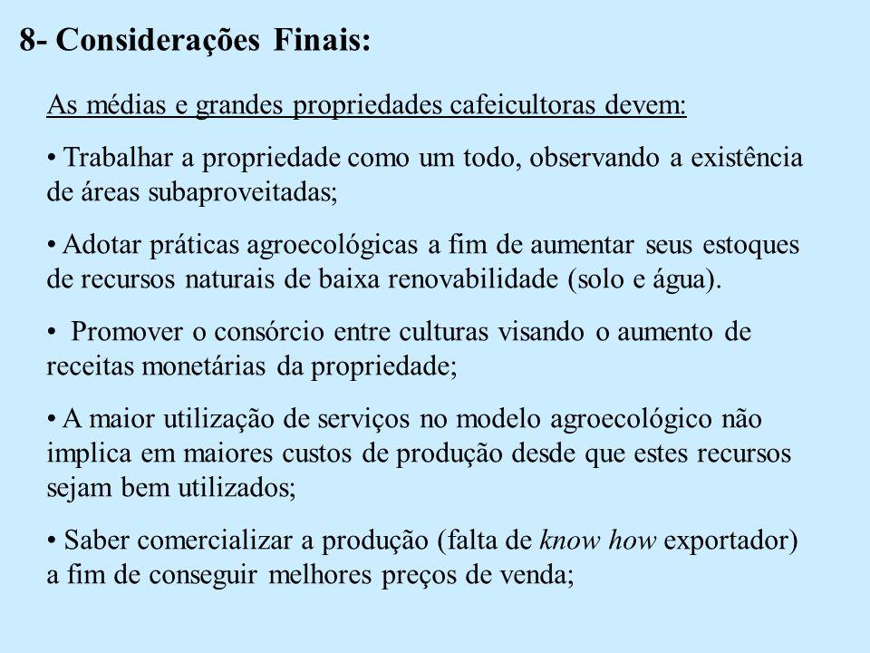 8- Considerações Finais: