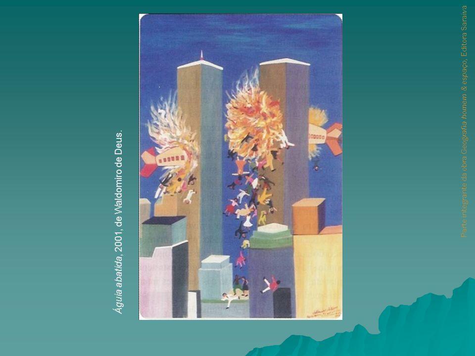 Águia abatida, 2001, de Waldomiro de Deus.
