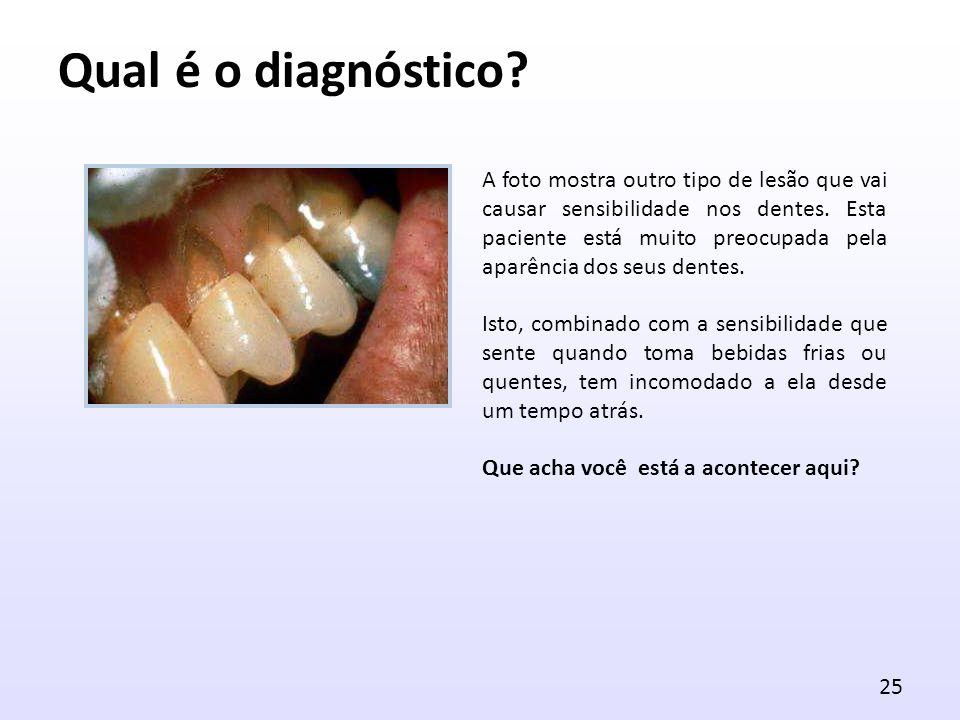 Qual é o diagnóstico