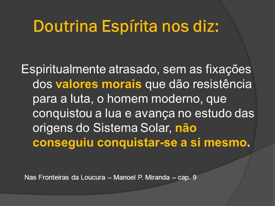 Doutrina Espírita nos diz:
