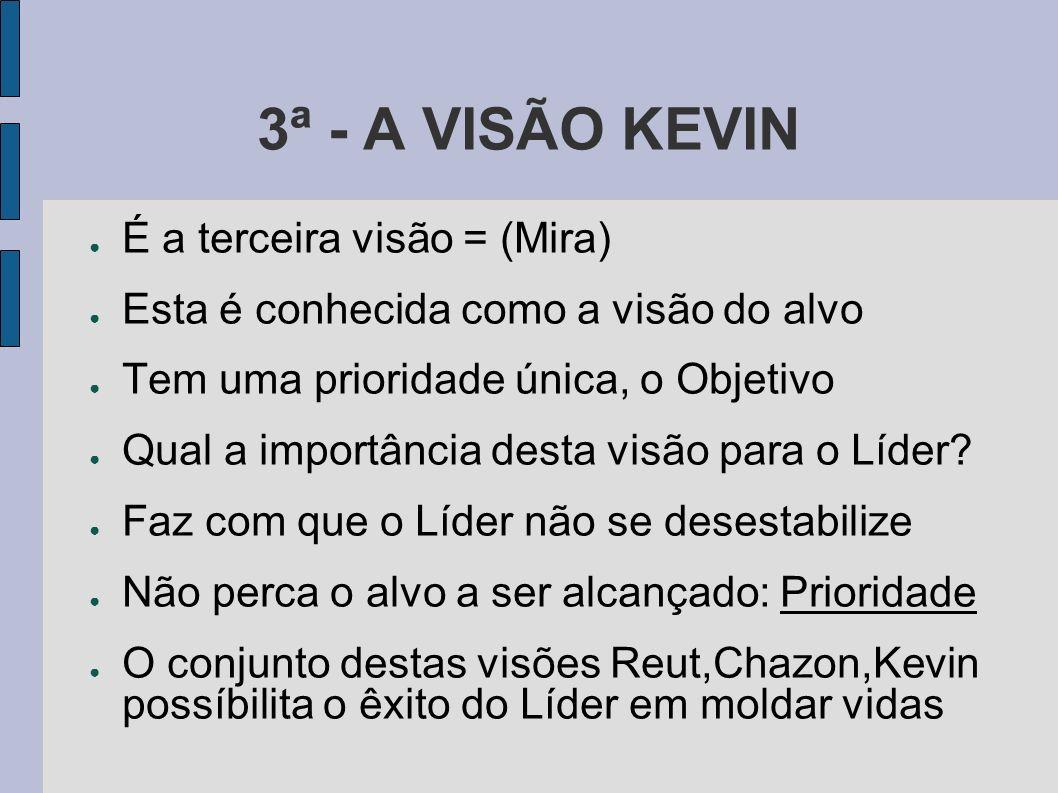 3ª - A VISÃO KEVIN É a terceira visão = (Mira)