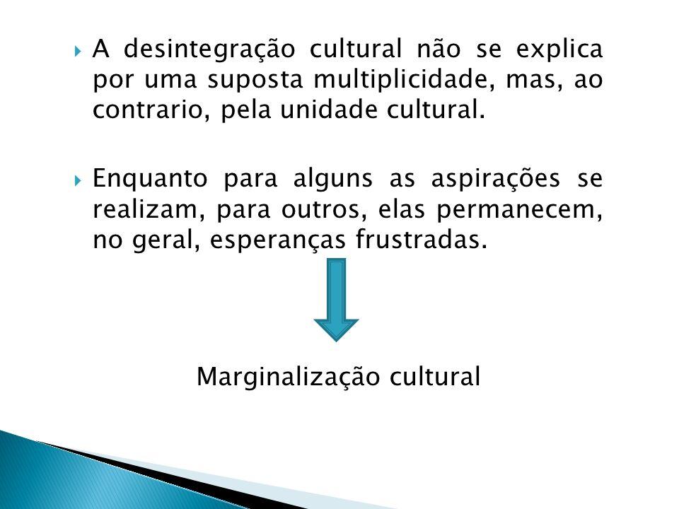 Marginalização cultural
