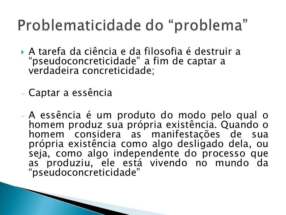 Problematicidade do problema