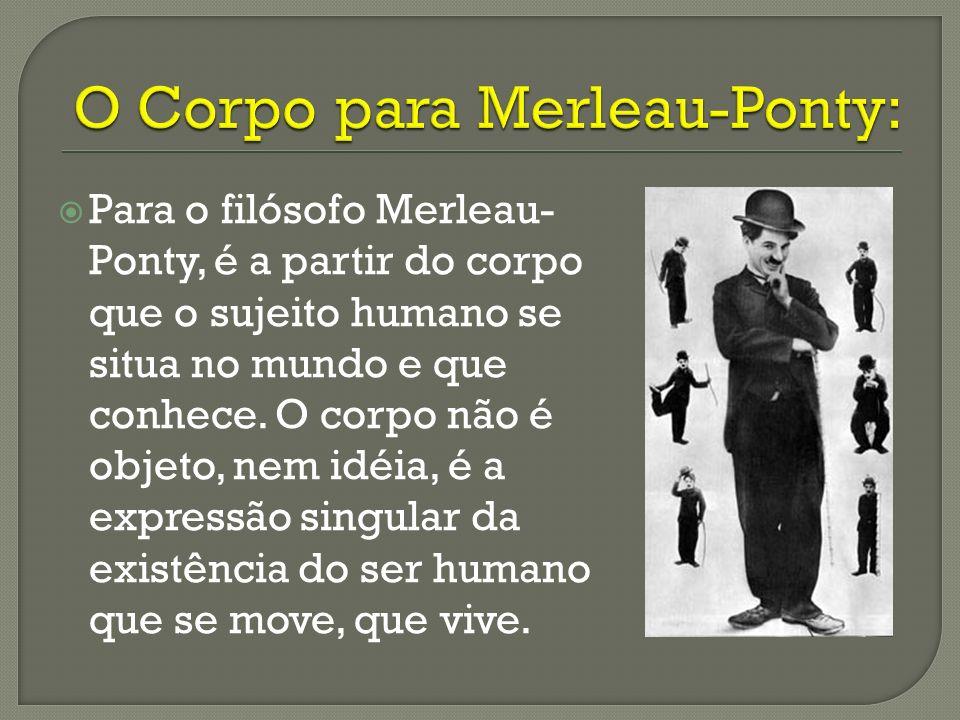 O Corpo para Merleau-Ponty:
