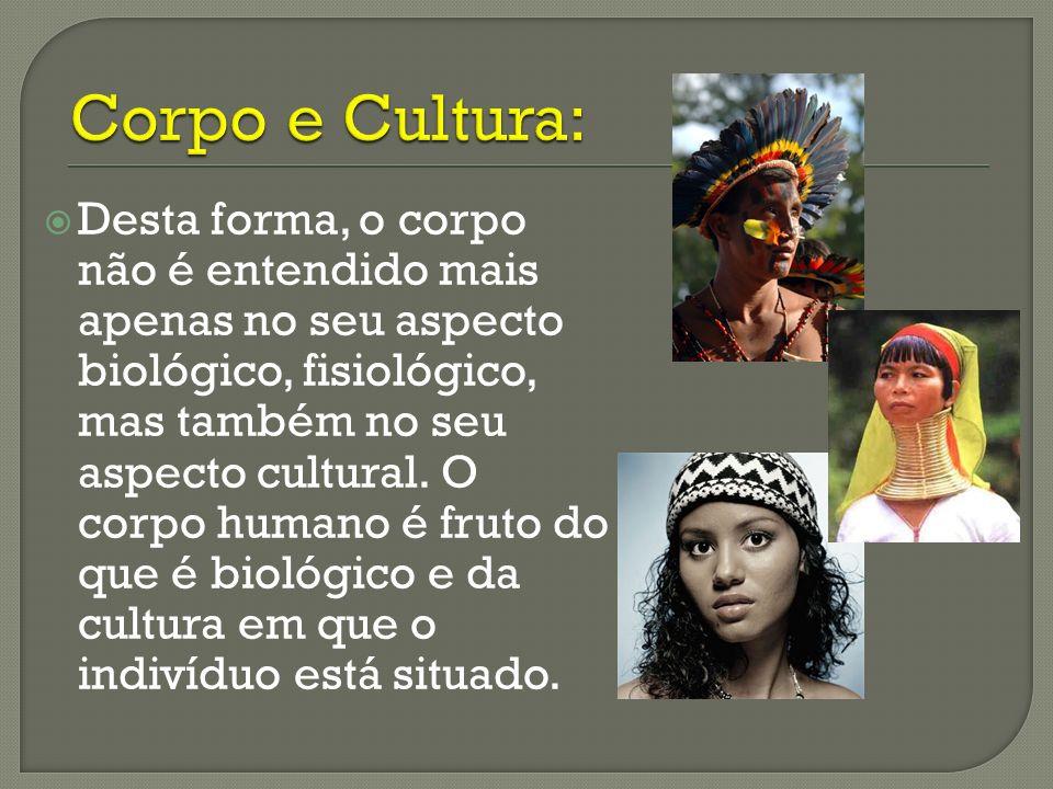 Corpo e Cultura: