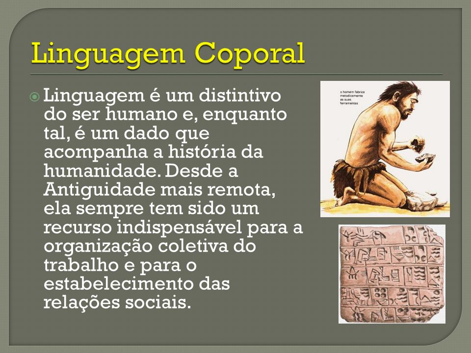 Linguagem Coporal
