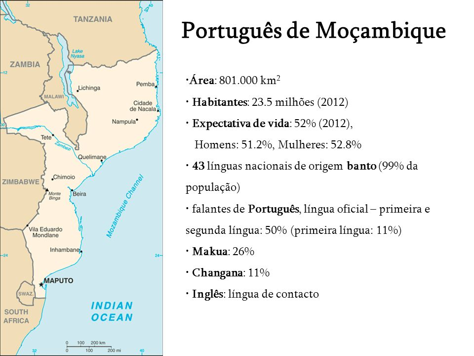Português de Moçambique