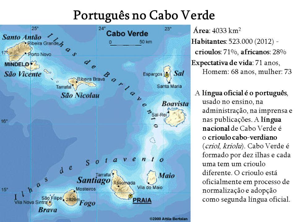 Português no Cabo Verde