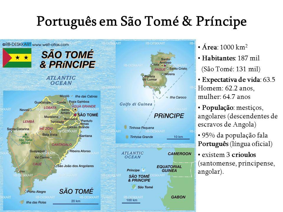 Português em São Tomé & Príncipe