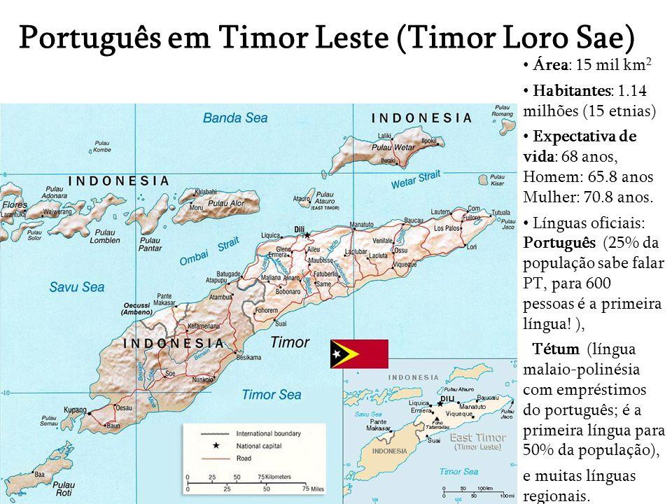 Português em Timor Leste (Timor Loro Sae)