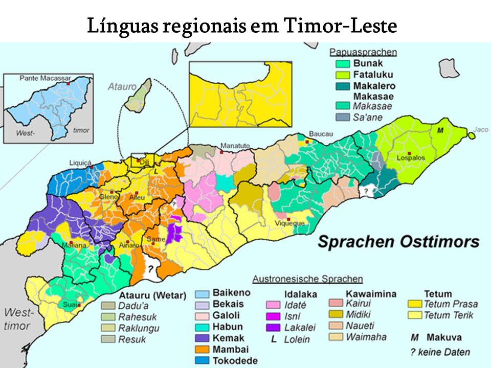 Línguas regionais em Timor-Leste