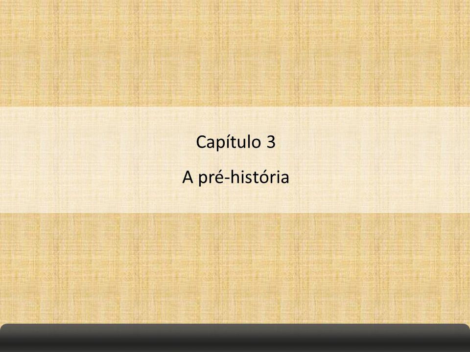 Capítulo 3 A pré-história
