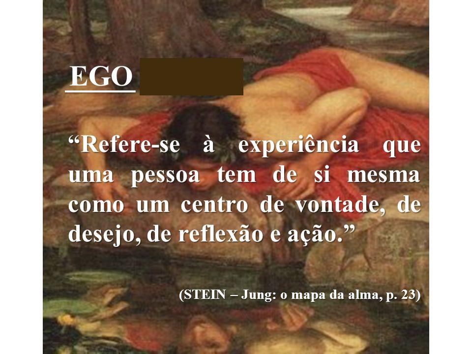 EGO + ÍSMO (STEIN – Jung: o mapa da alma, p. 23)