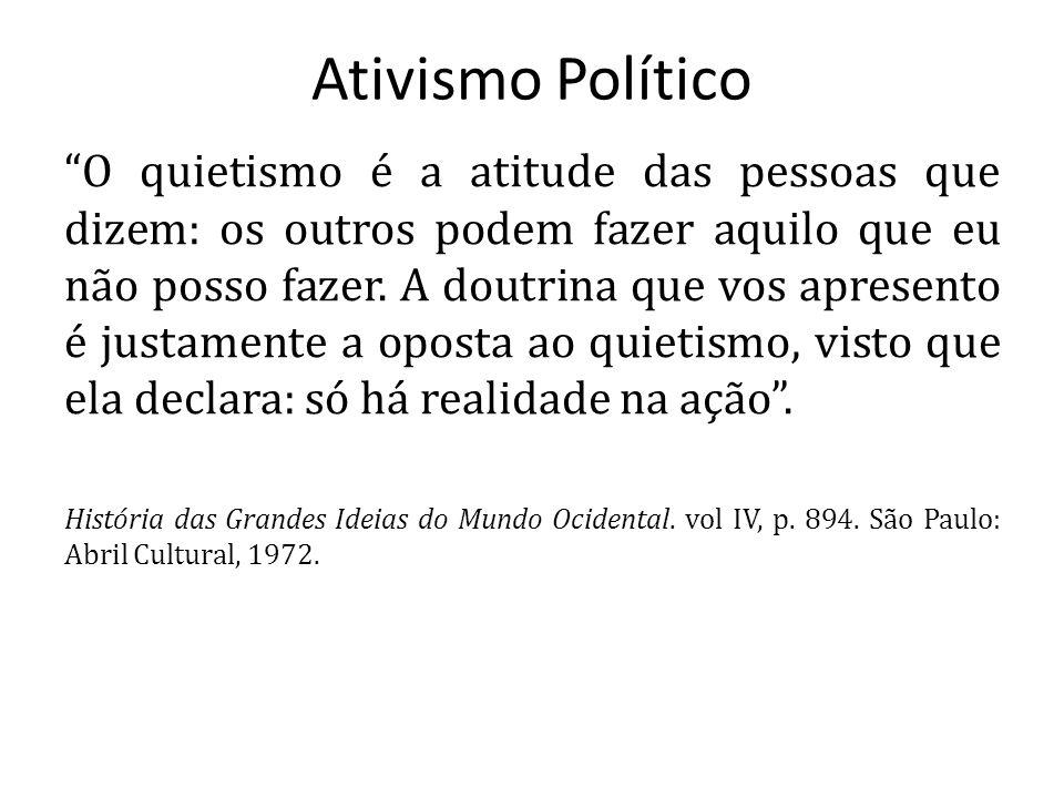 Ativismo Político