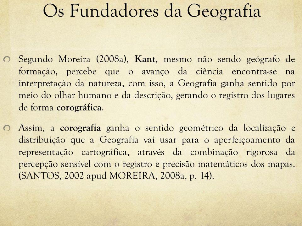 Os Fundadores da Geografia