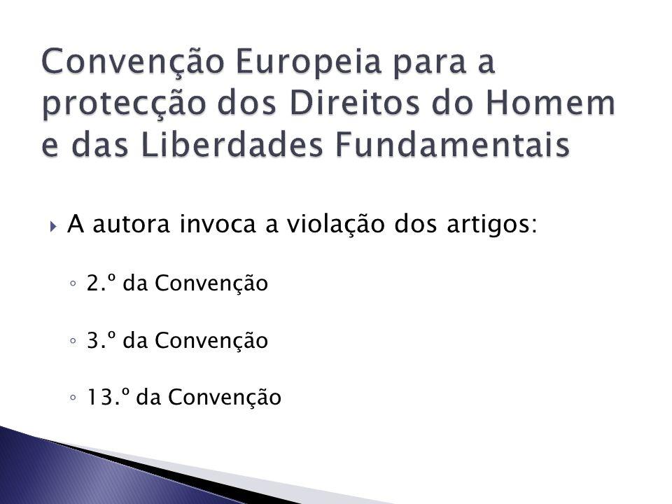 Convenção Europeia para a protecção dos Direitos do Homem e das Liberdades Fundamentais