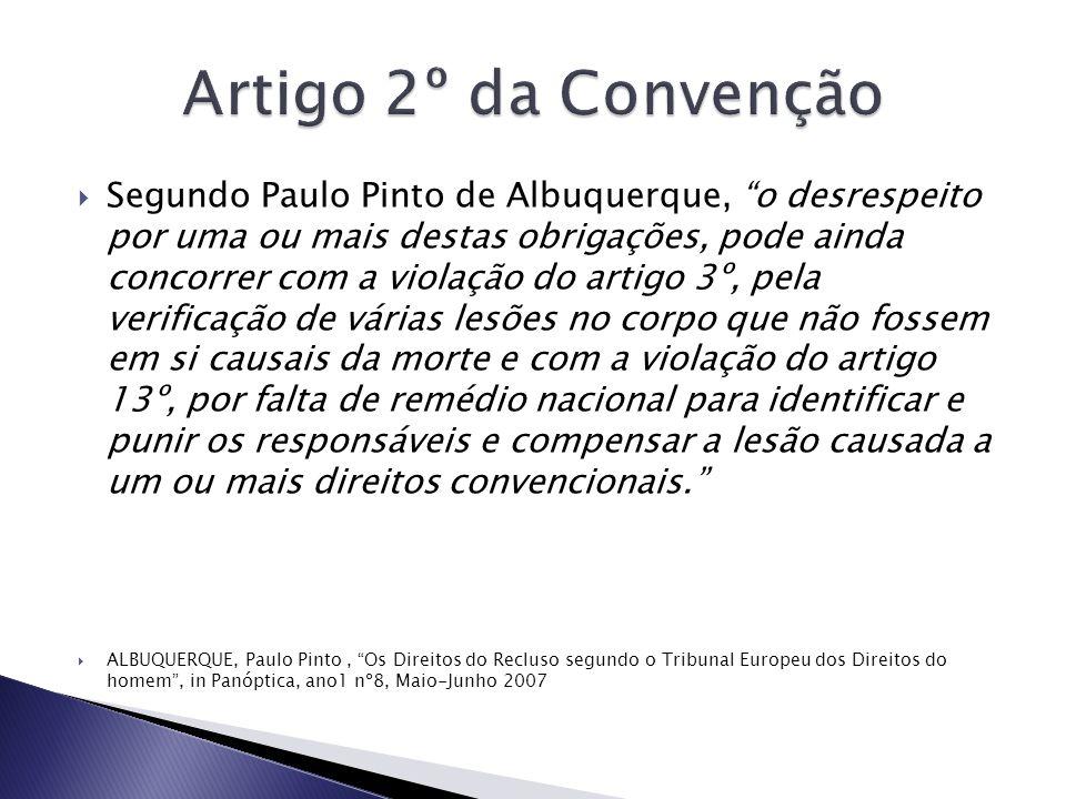 Artigo 2º da Convenção