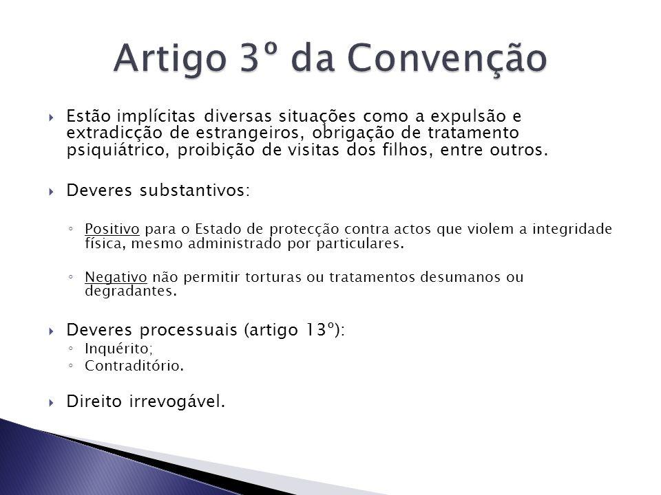 Artigo 3º da Convenção