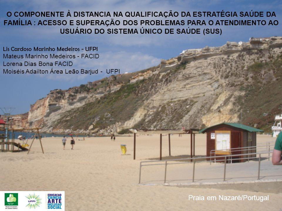 Praia em Nazaré/Portugal