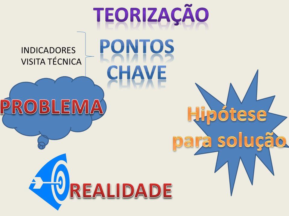 TEORIZAÇÃO PONTOS CHAVE PROBLEMA Hipótese para solução REALIDADE
