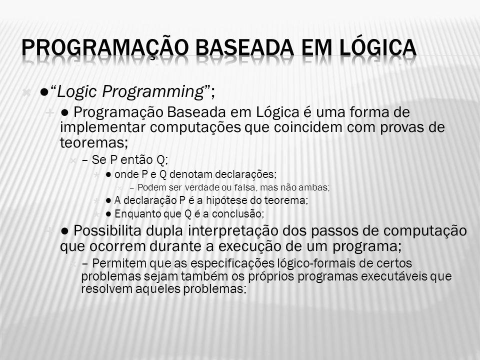 Programação Baseada em Lógica