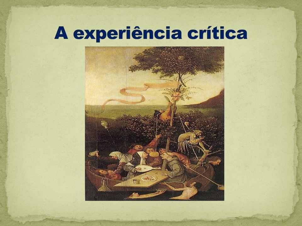 A experiência crítica