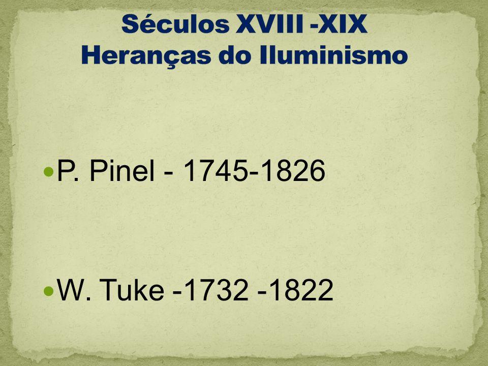 Séculos XVIII -XIX Heranças do Iluminismo