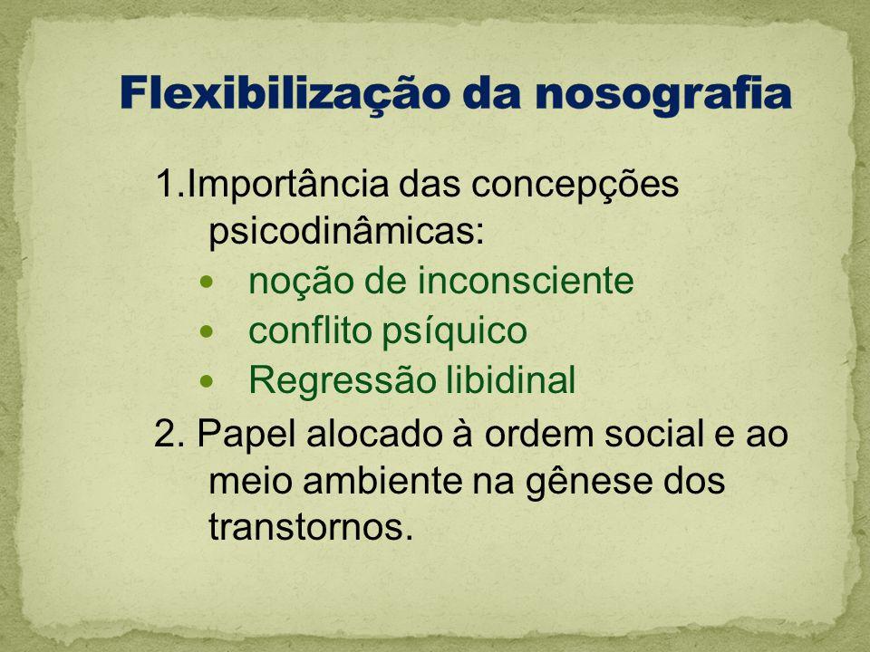 Flexibilização da nosografia